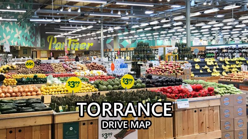 トーランス ドライブマップ