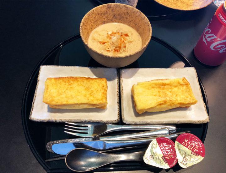 キャセイラウンジ フレンチトースト