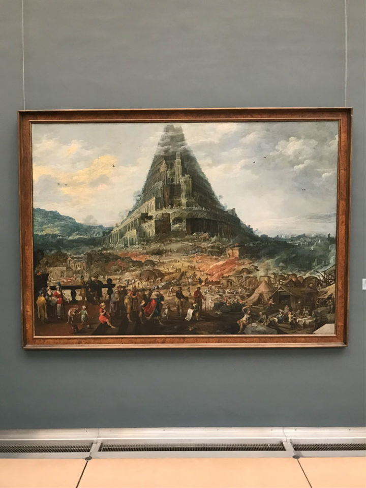 ブリュッセル バベルの塔