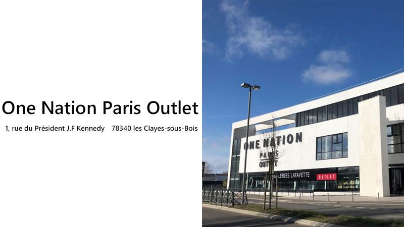 One Nation Paris Outlet