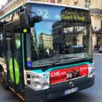 パリ バス 22番