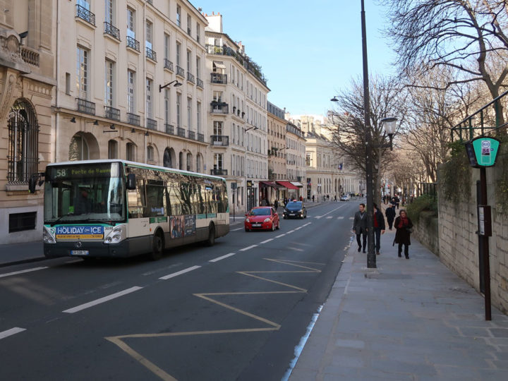Paris Bus No. 58