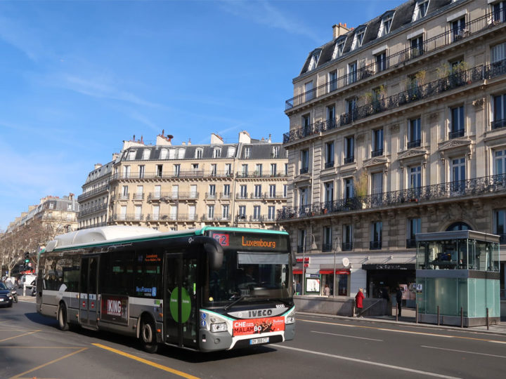 Paris Bus No. 62