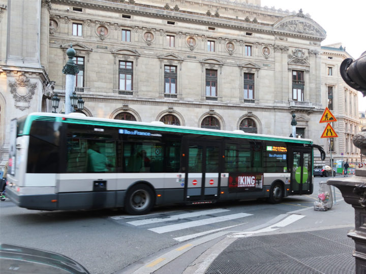 Paris Bus 66