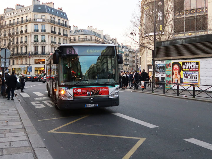 Paris Bus No. 81