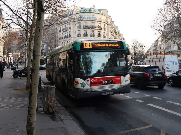 Paris Bus No. 83