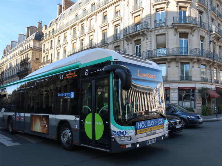 Paris Bus No. 85