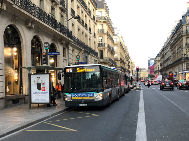 Paris Bus No. 95
