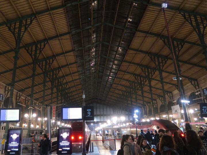 パリ 北駅 タリス