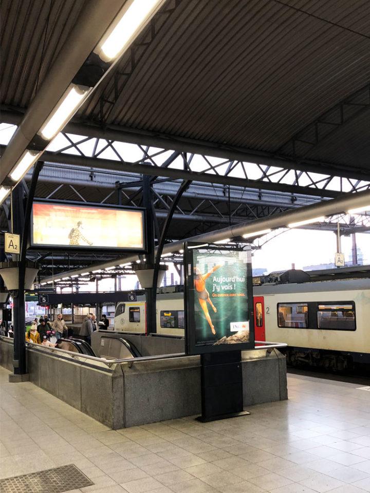 タリス ブリュッセル南駅
