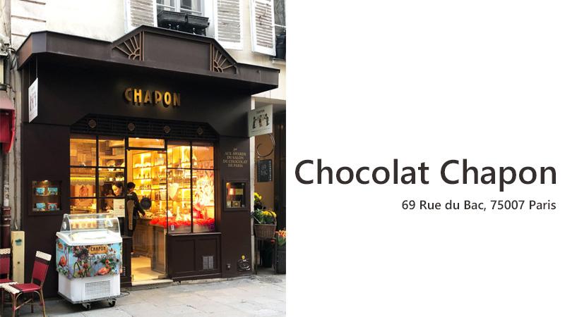 Chocolat Chapon Paris
