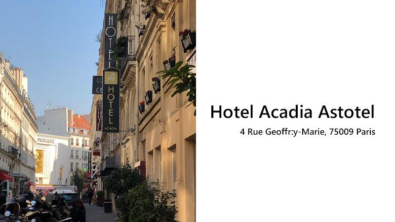 Hotel Acadia Astotel