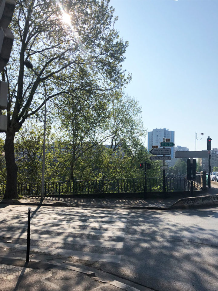 Marques Avenue セーヌ川