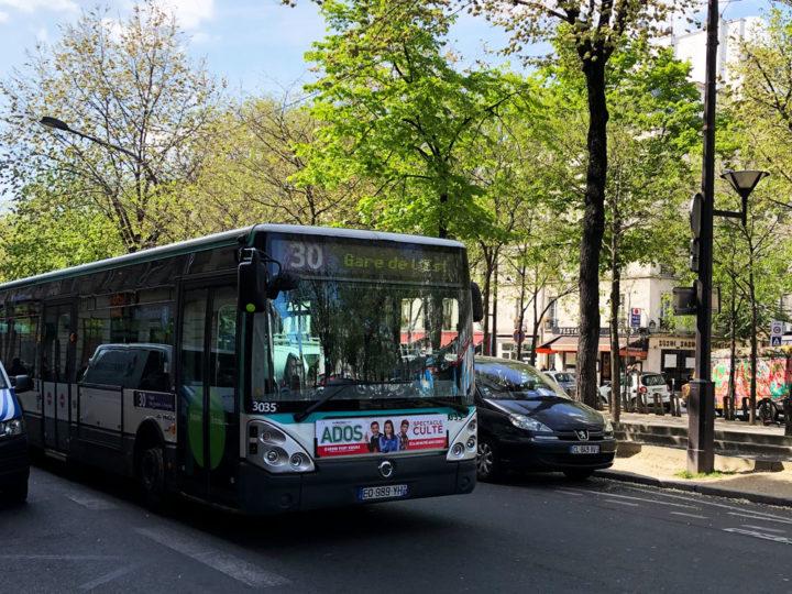 paris bus ligne30