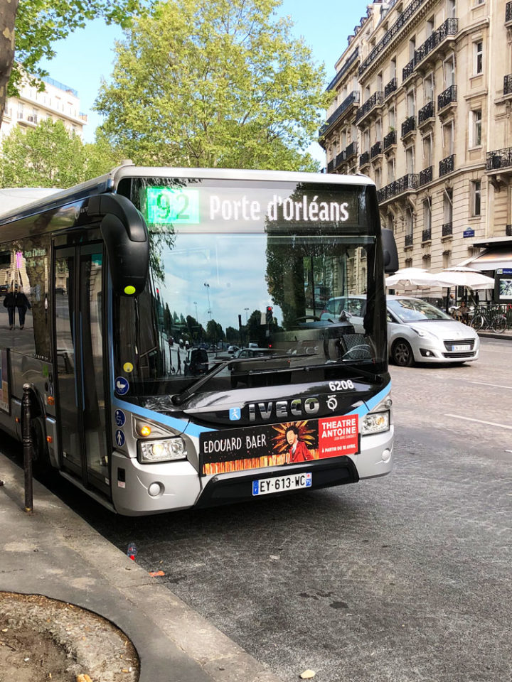 paris bus ligne92