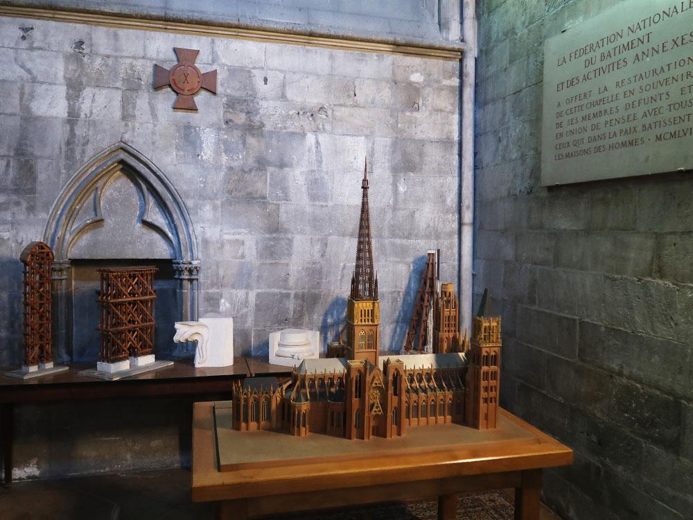 ルーアン大聖堂 模型