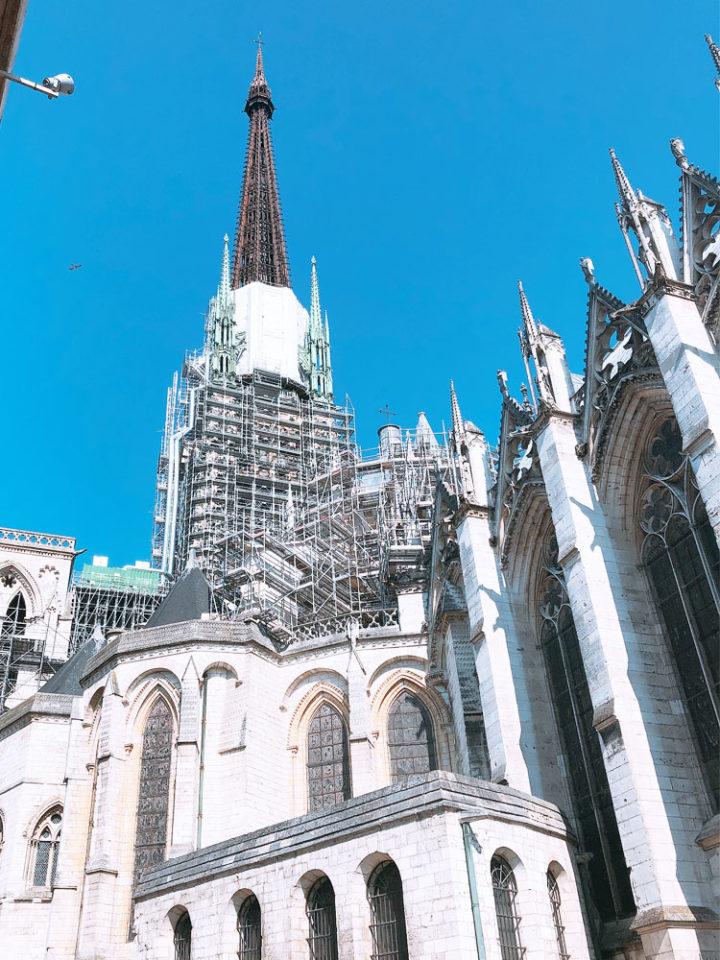 ルーアン大聖堂 尖塔