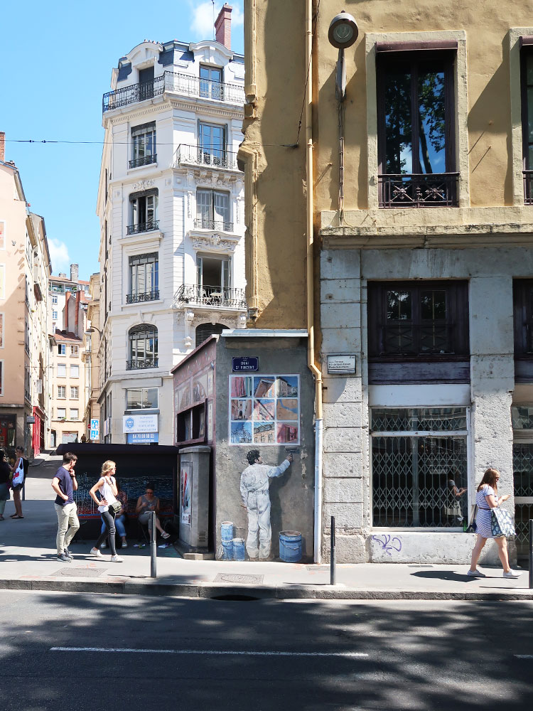 La Fresque des Lyonnais