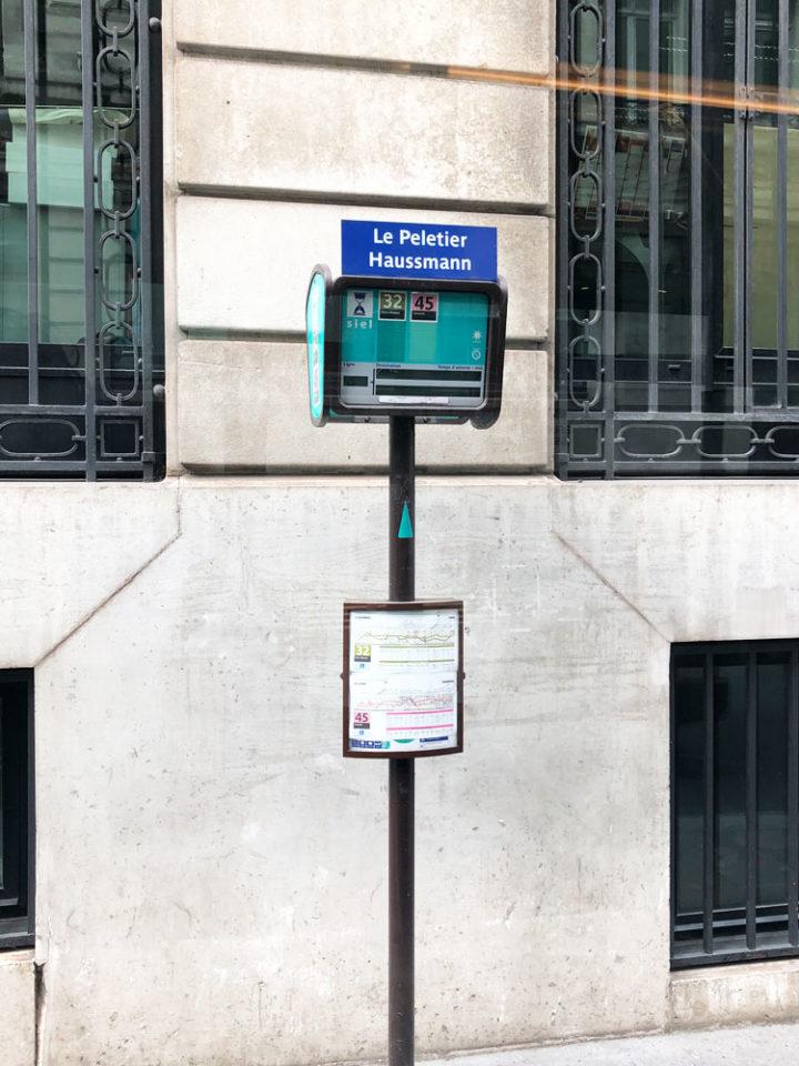 Le Peletier / Haussmann