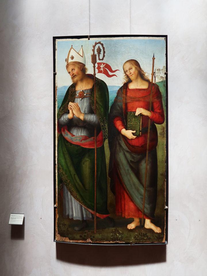 Saint Herculan et saint Jacques