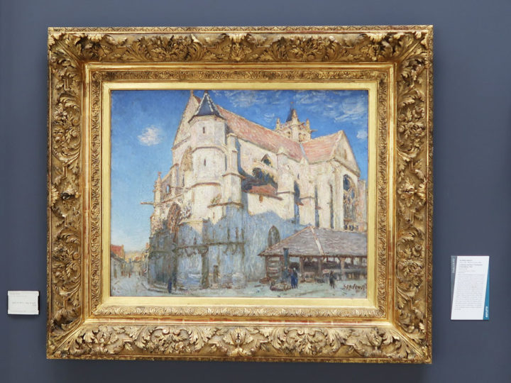 L'Eglise de Moret (plein soleil)