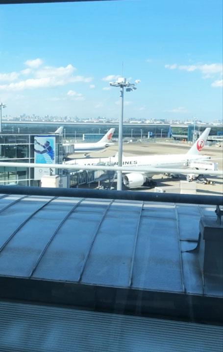 羽田国際空港 スカイラウンジ
