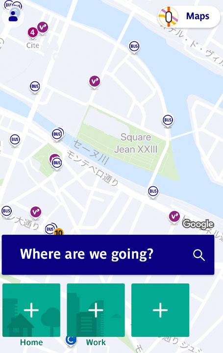 RATP アプリ