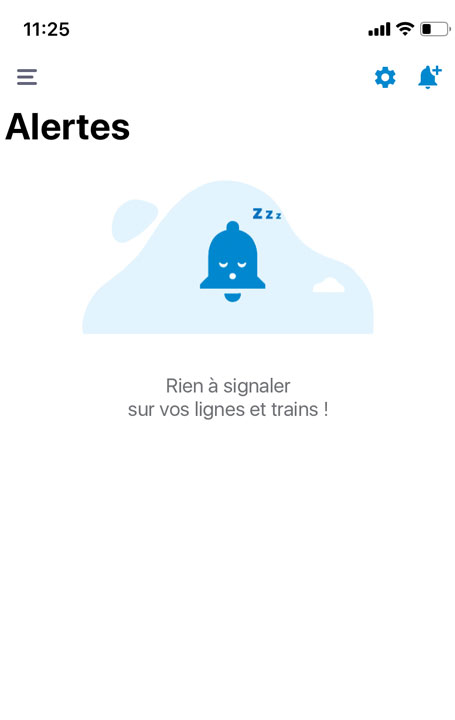 SNCF アプリ