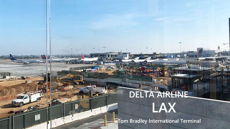 ロサンゼルス空港 デルタ