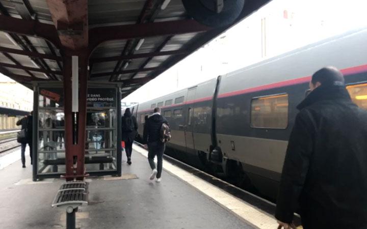 ナンシー駅