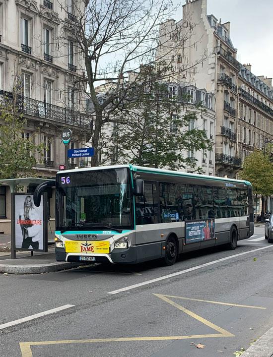 バス 56番線