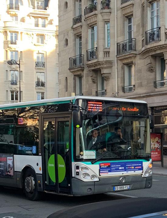 パリ バス 70番線