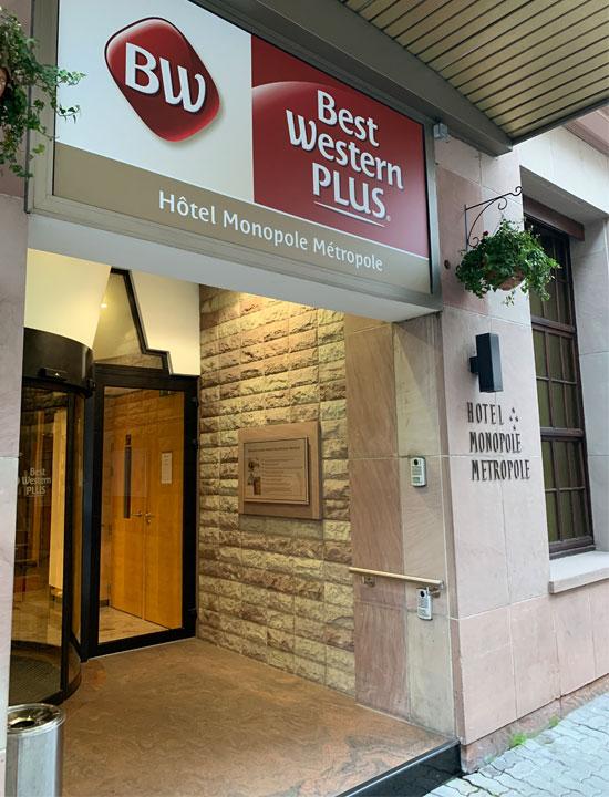Best Western Plus Hôtel Monopole Métropole