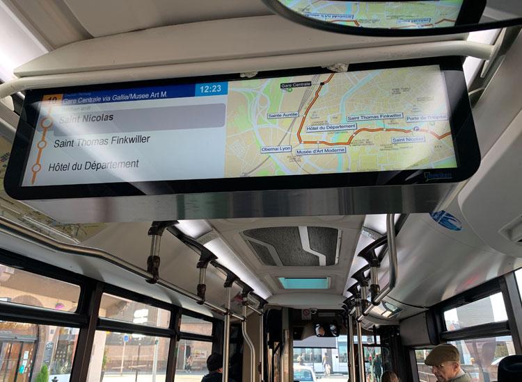 バス10番線 ストラスブール