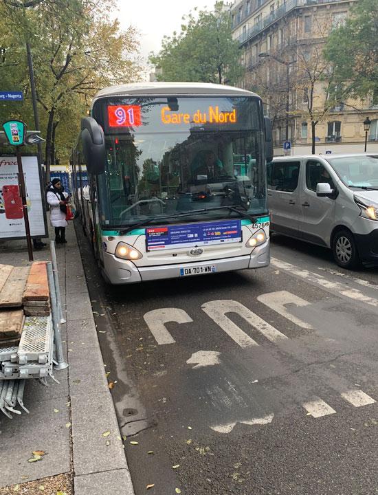 Paris Bus Line 91