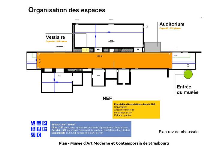 ストラスブール現代美術館 マップ