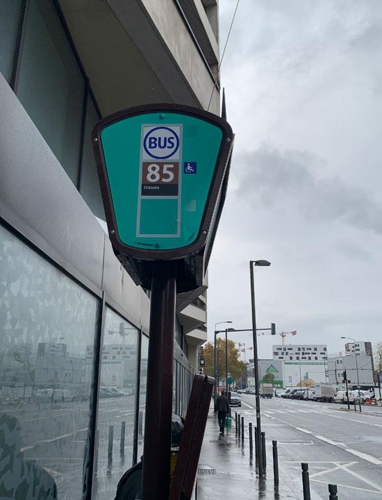 バス 85号線