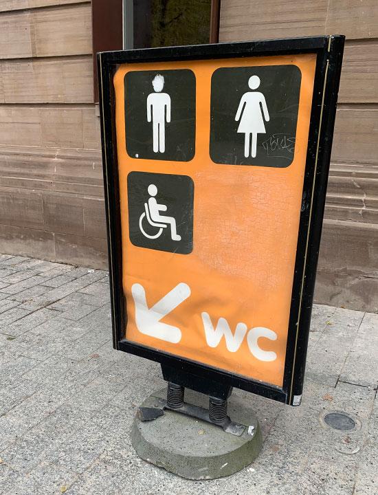 ストラスブール トイレ