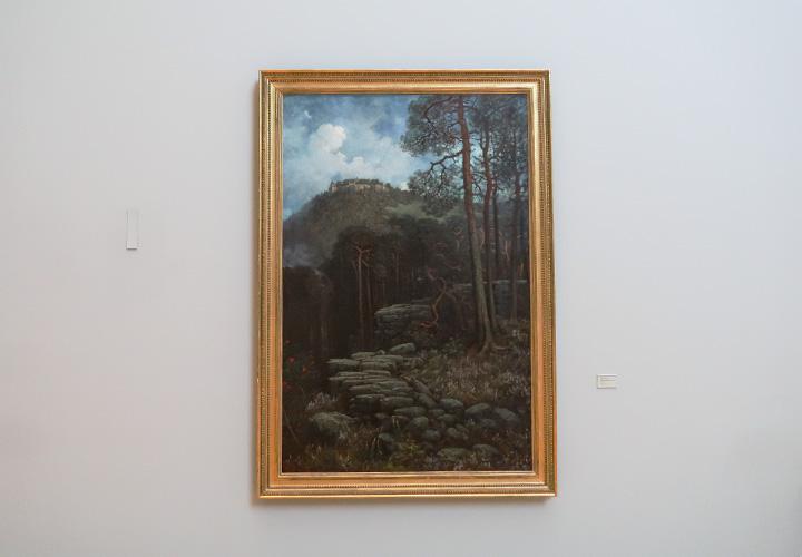 Le Mont Sainte-Odile avec le mur païen