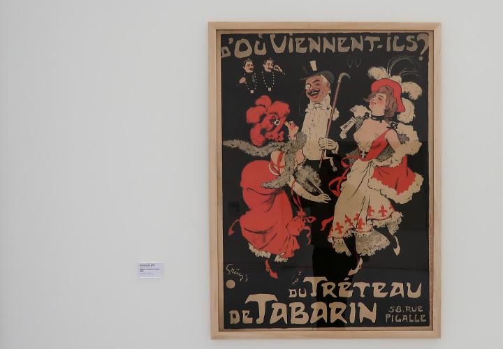 Affiche Le tréteau de Tabarin