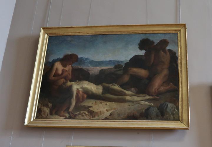 Adam et Eve trouvant  le corps d'Abel lille