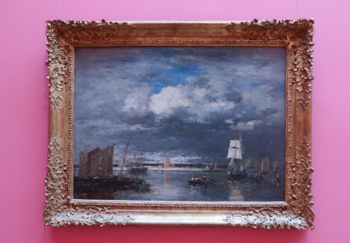 Le port de Camaret par ciel d'orage