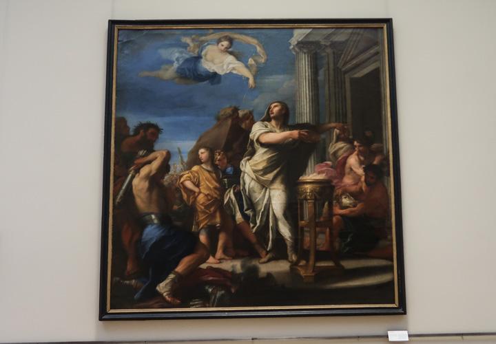 L'empereur Auguste ordonne de fermer les portes du temple de Janus ou La Paix d'Auguste