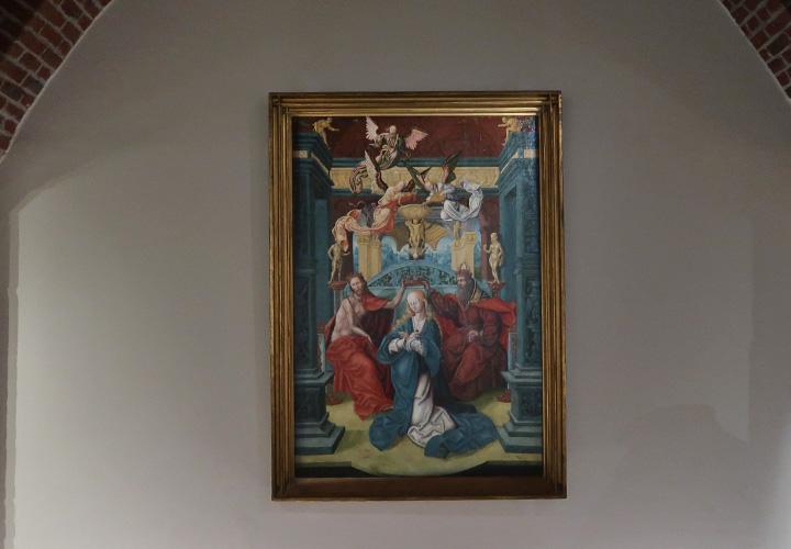 La Couronnement de la Vierge