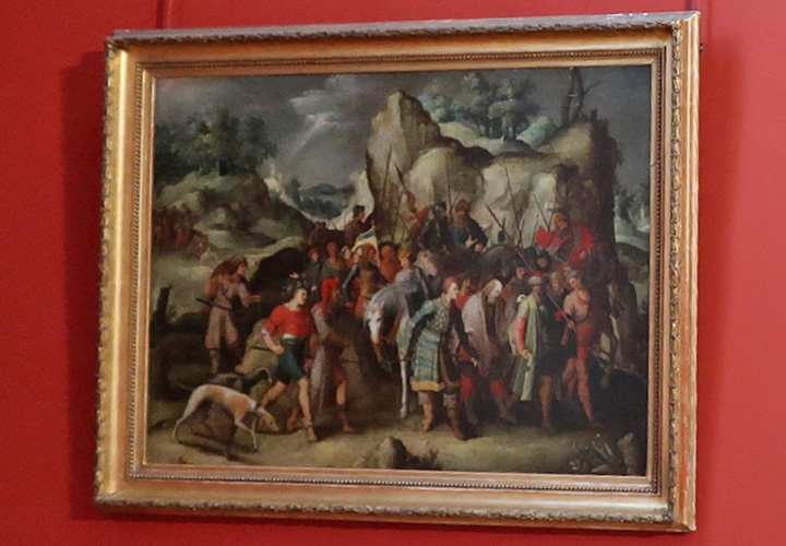 Saint Paul conduit à Damas après sa conversion