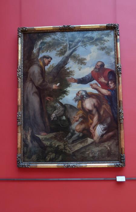 Le miracle de la mule ou Miracle de saint Antoine de Padoue à Toulouse,