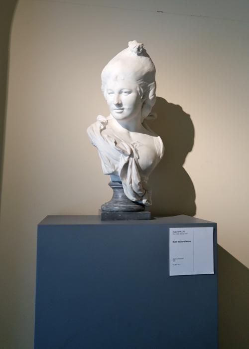 Musée des Beaux-Arts Rennes Buste de jeune femme