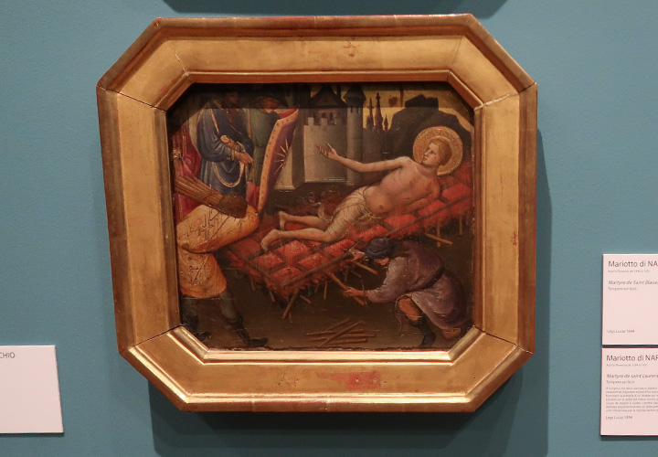 Martyre de saint Laurent