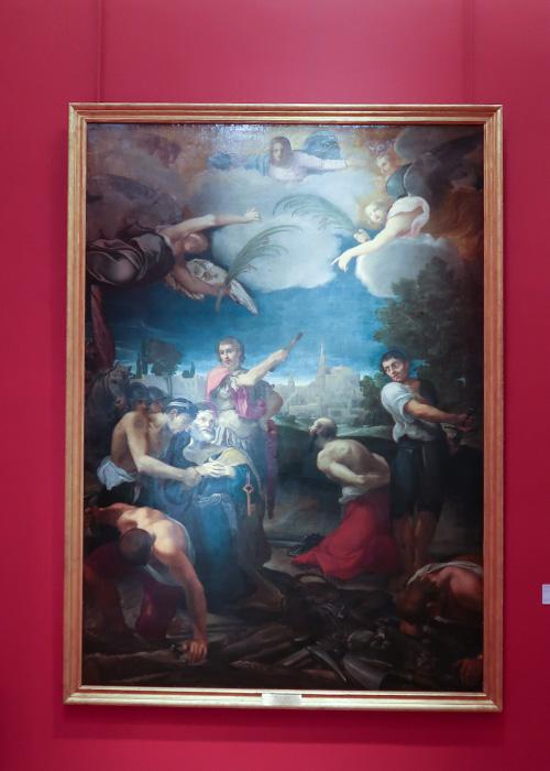 le martyre de saint pierre et saint paul