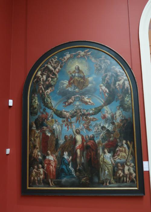 Le Christ en gloire ou la Trinité environnée de Saints